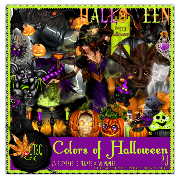 Colors of Halloween