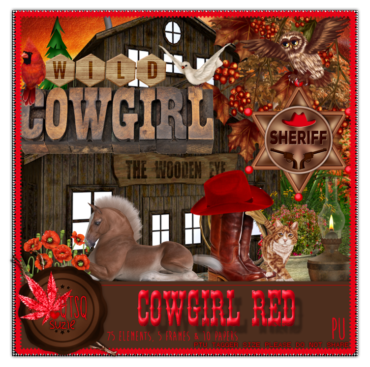 CowGirl Red