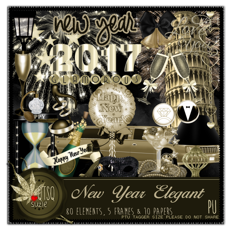 New Year Elegant