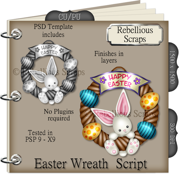 Easter Wreath Script