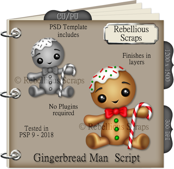 Gingerbread Man Script