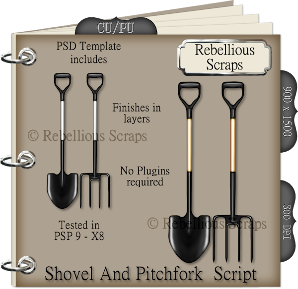 Shovel and Pitchfork Script