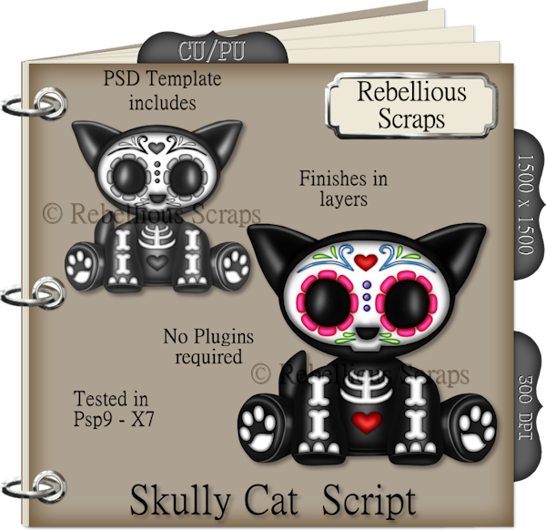 Skully Cat Script