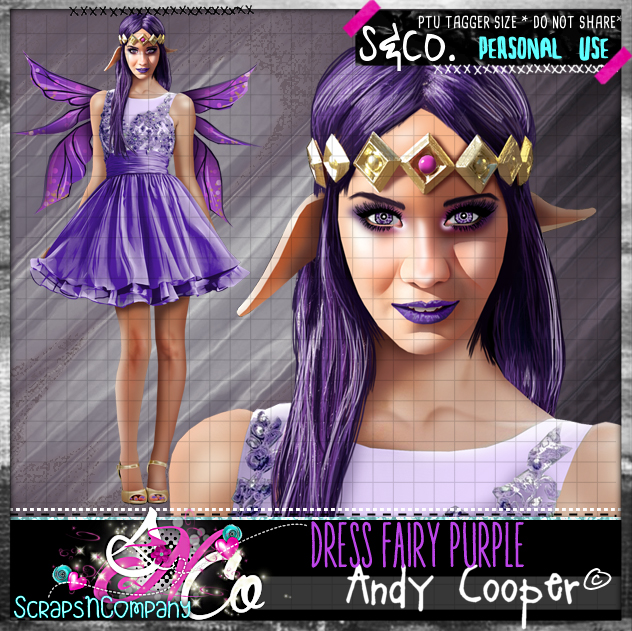 DRESS FAIRY PURPLE