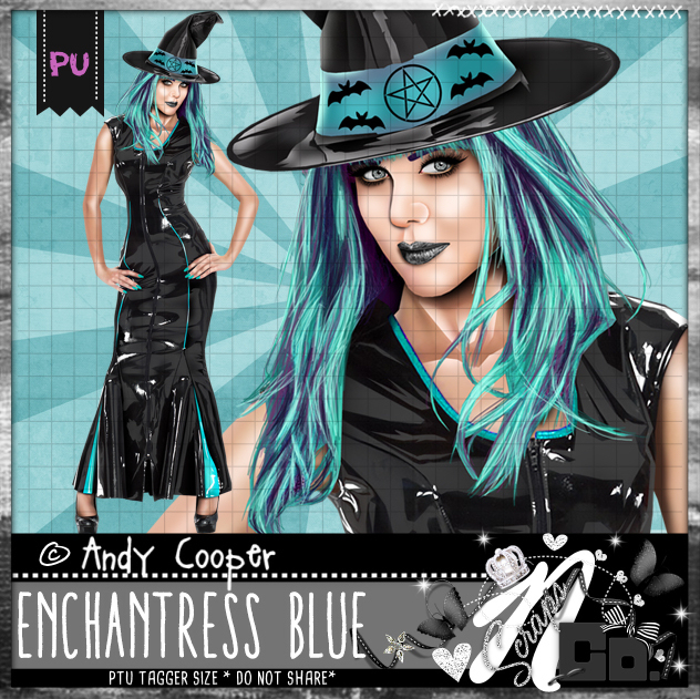 ENCHANTRESS BLUE