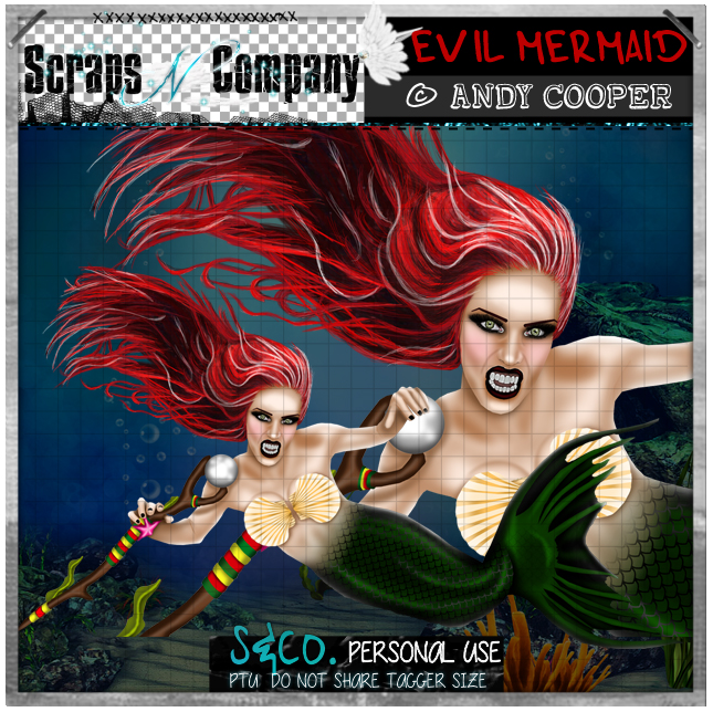EVIL MERMAID