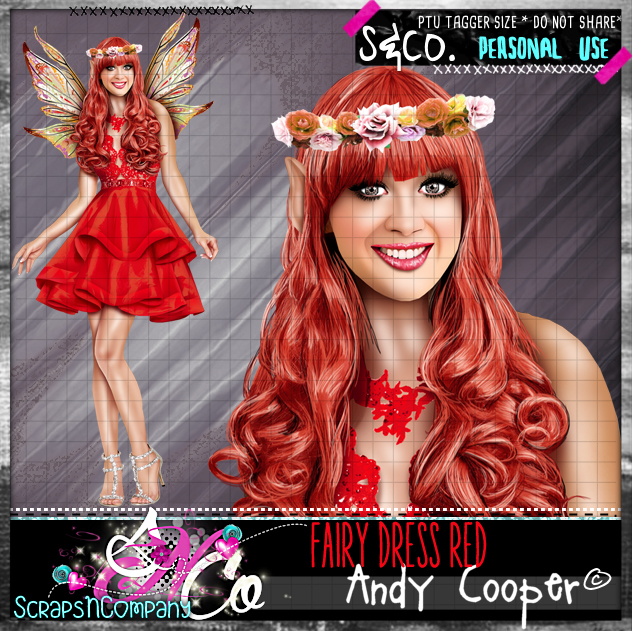 FAIRY DRESS RED