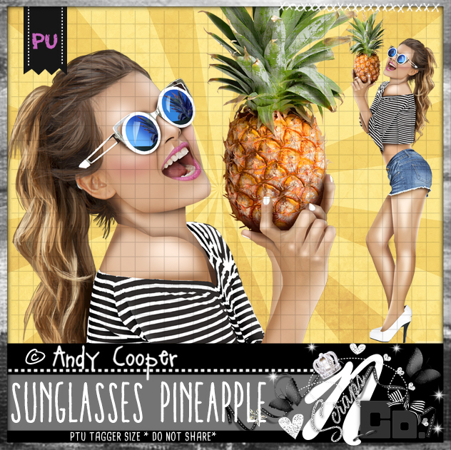 SUNGLASSES PINEAPPLE