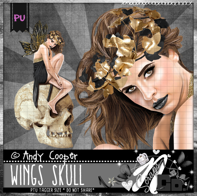 AC-WINGS SKULL