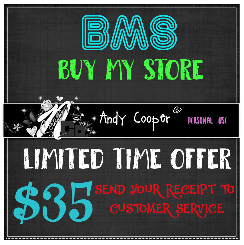 !!BMS ANDY COOPER LIMITED TIME $35