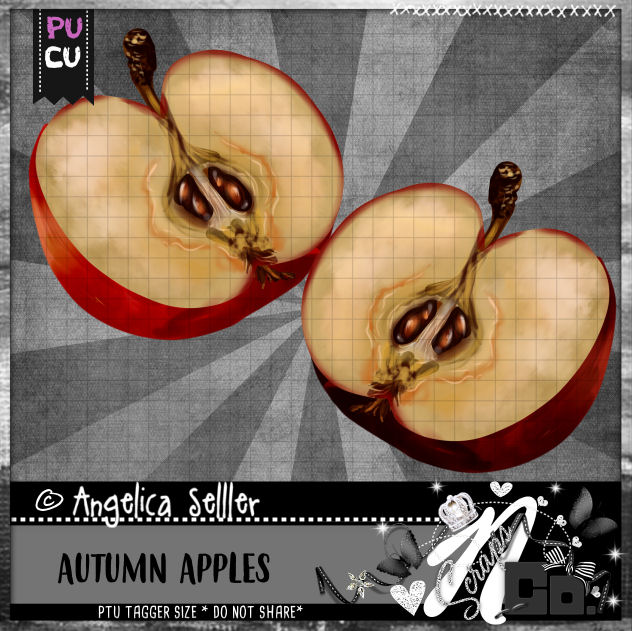 AUTUMN APPLES CU PU TEMPLATE