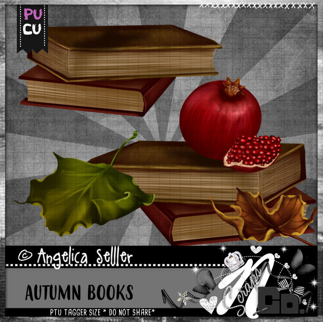 AUTUMN BOOKS CU PU TEMPLATE