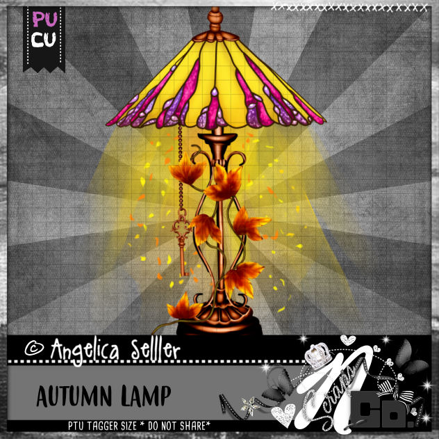 AUTUMN LAMP CU PU TEMPLATE