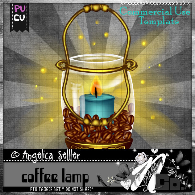 COFFEE LAMP TEMPLATE CU PU