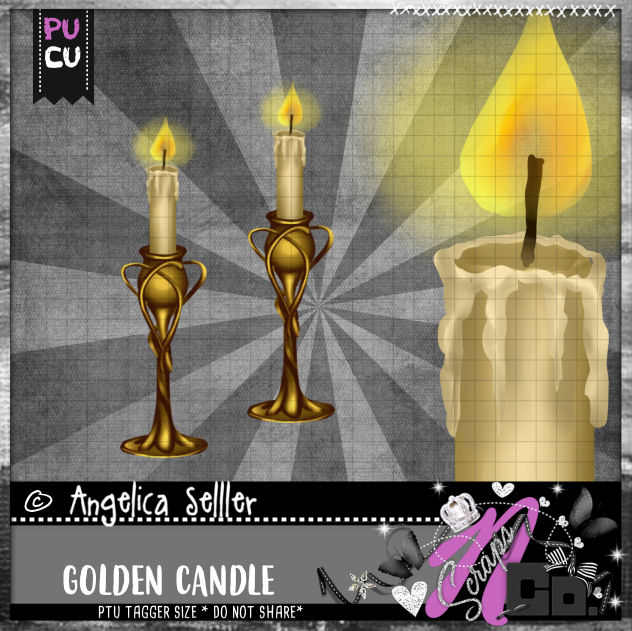 GOLDEN CANDLE CU PU TEMPLATE