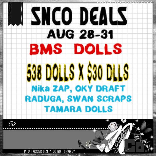!BMS DOLL- LIMITED TIME DEAL