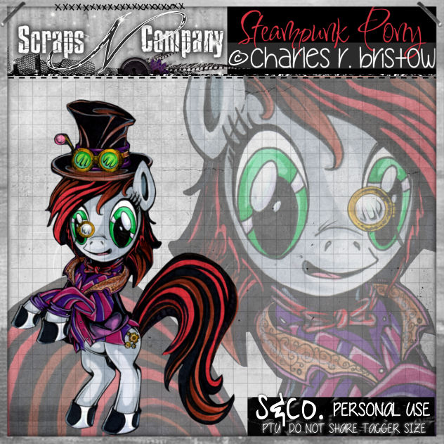 STEAMPUNK PONY