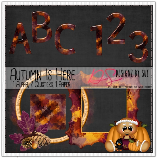 AUTUMN IS HERE ALPHA