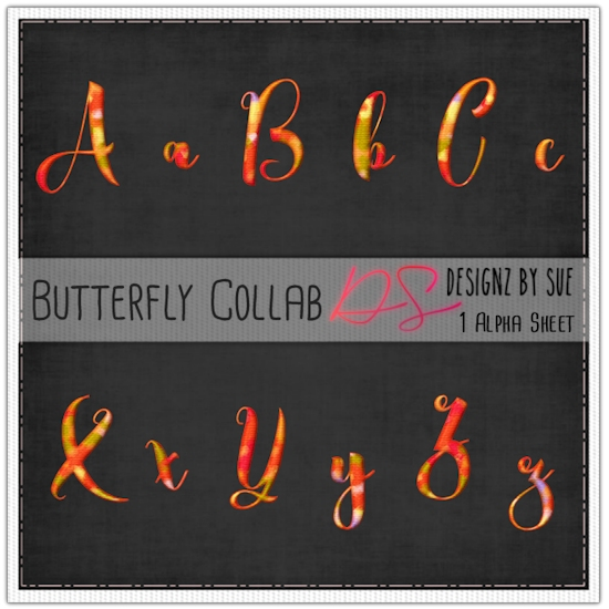 BUTTERFLY COLLAB ALPHAS