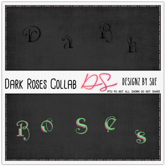 DARK ROSES COLLAB ALPHAS
