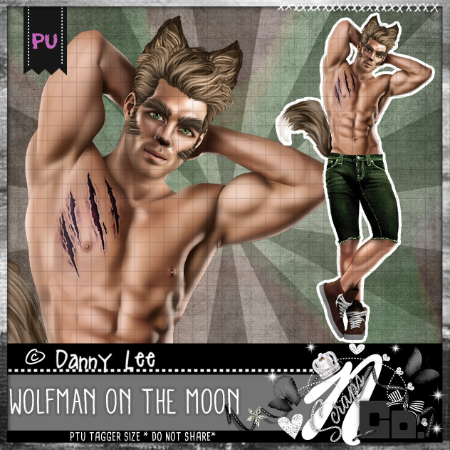 Wolfman on the moon
