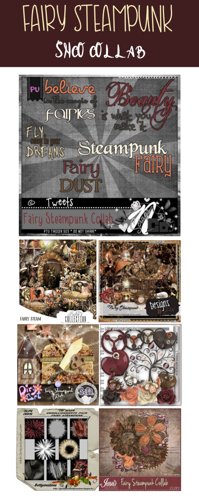 FAIRY STEAMPUNK 2017 PART 1