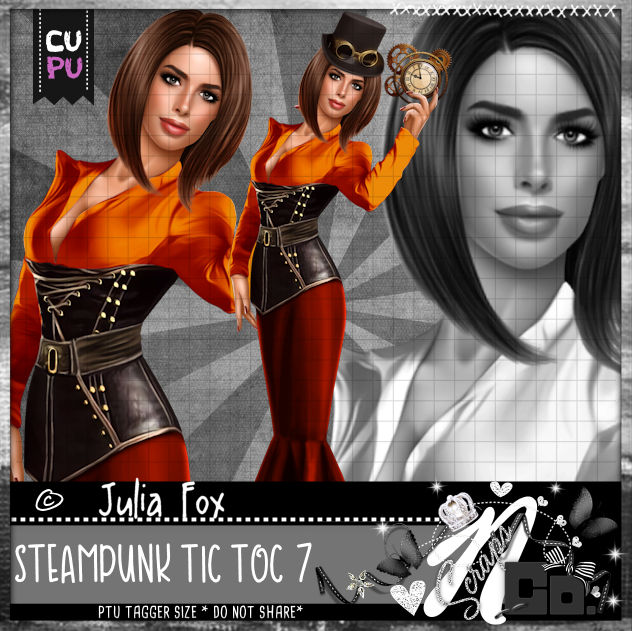 STEAMPUNK TIC TOC-7