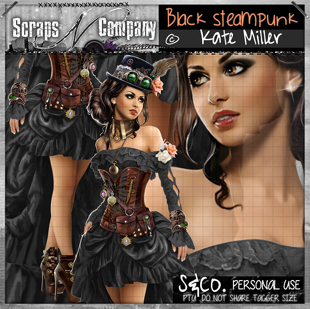 BLACK STEAMPUNK