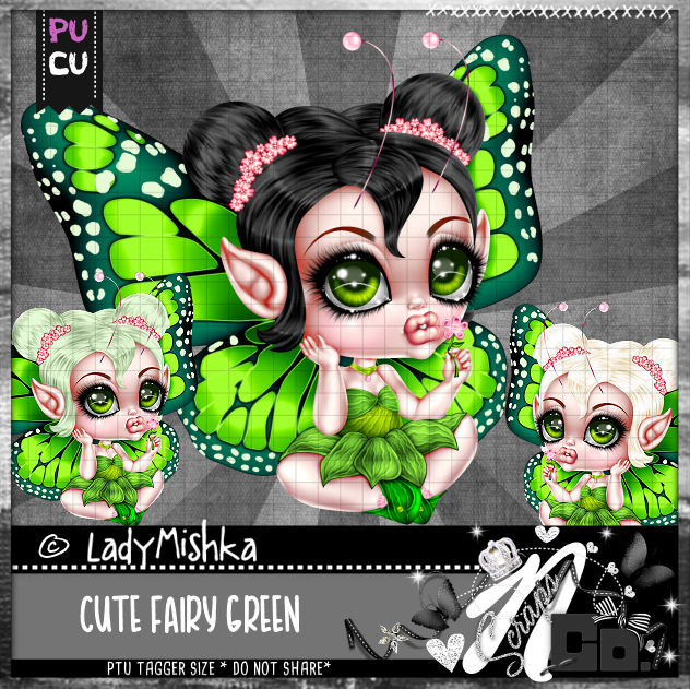 CUTE FAIRY GREEN