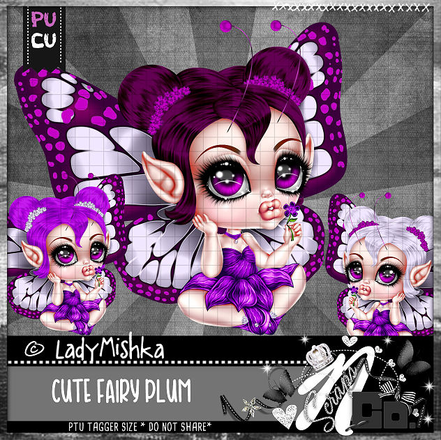 CUTE FAIRY PLUM