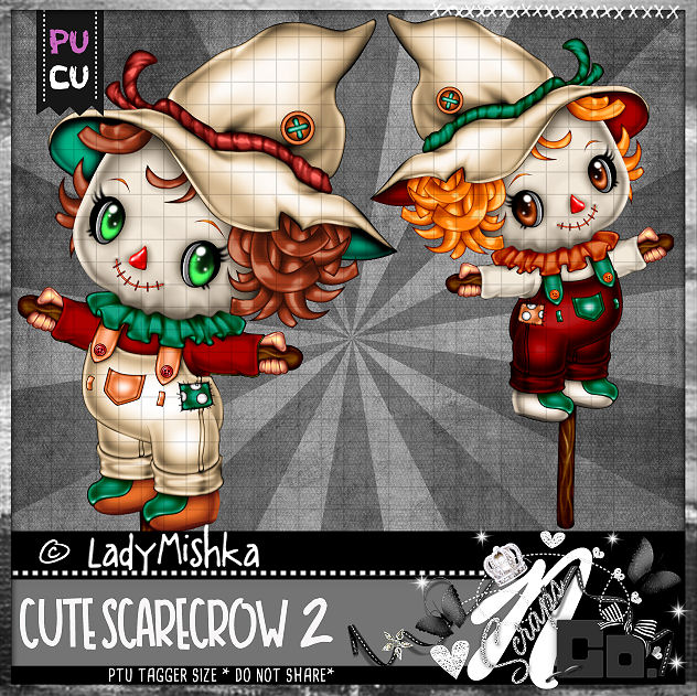 CUTE SCARECROW 2