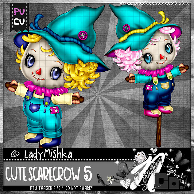 CUTE SCARECROW 5
