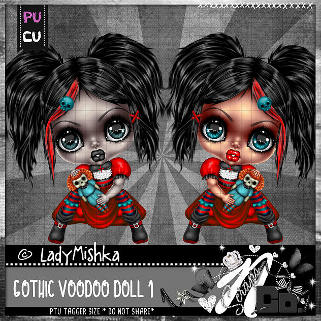 GOTHIC VOODOO DOLL 1