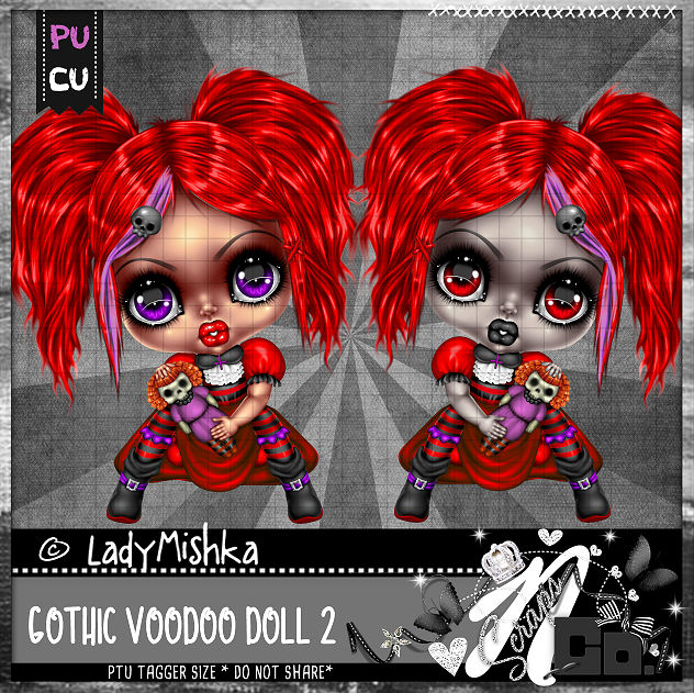 GOTHIC VOODOO DOLL 2