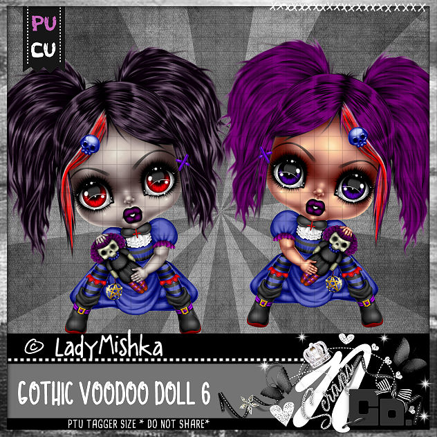 GOTHIC VOODOO DOLL 6
