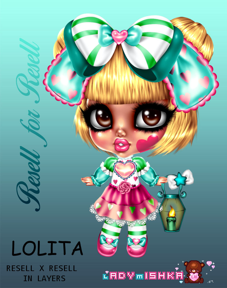 LOLITA RESELL X RESELL DOLL