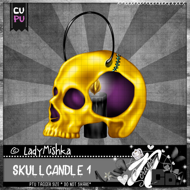 SKULL CANDLE 1