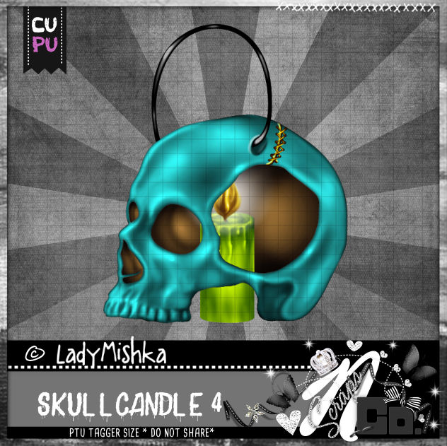 SKULL CANDLE 4