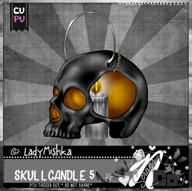SKULL CANDLE 5