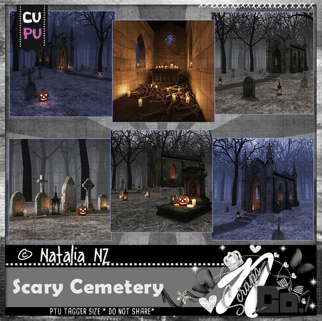 Scary Cemetery