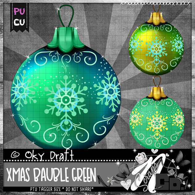 BAUBLE GREEN
