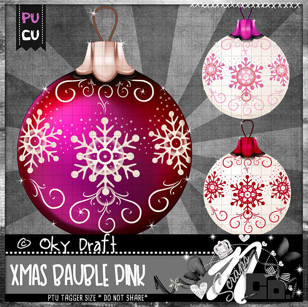 BAUBLE PINK