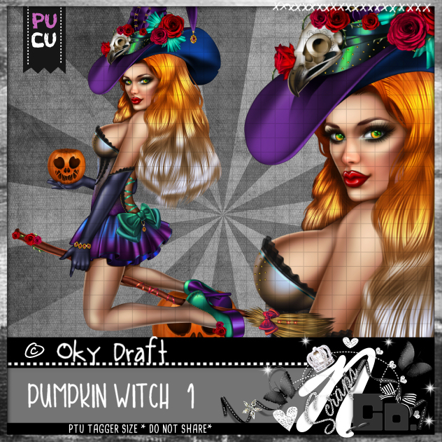 PUMPKIN WITCH 1