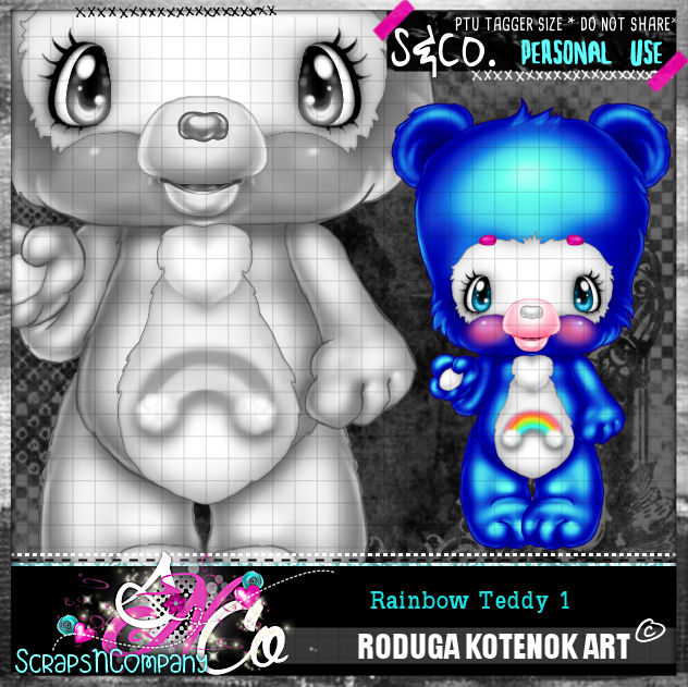RAINBOW TEDDY1