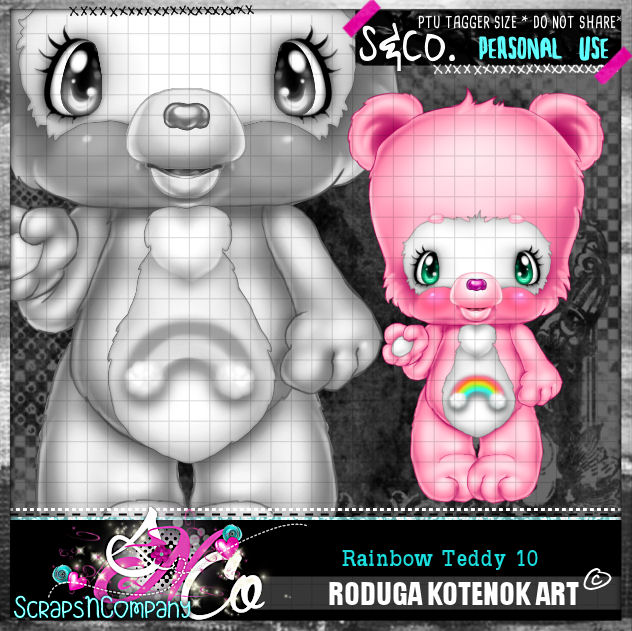 RAINBOW TEDDY10