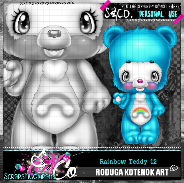 RAINBOW TEDDY12