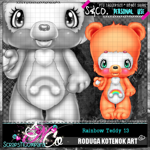 RAINBOW TEDDY13