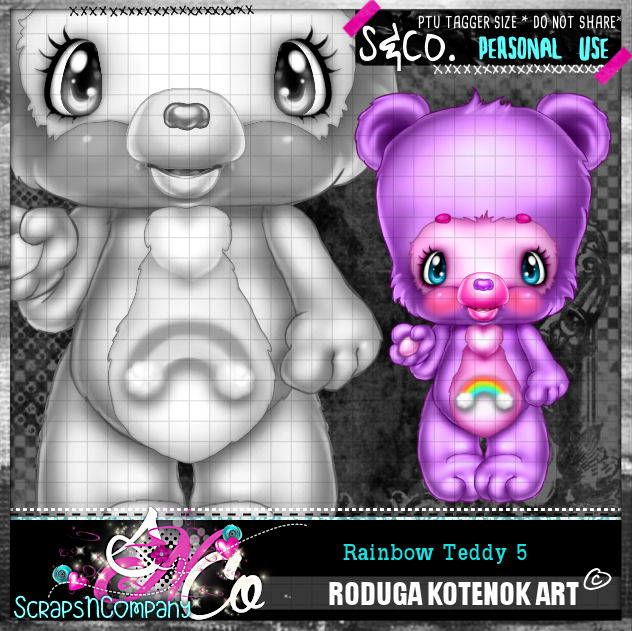 RAINBOW TEDDY5