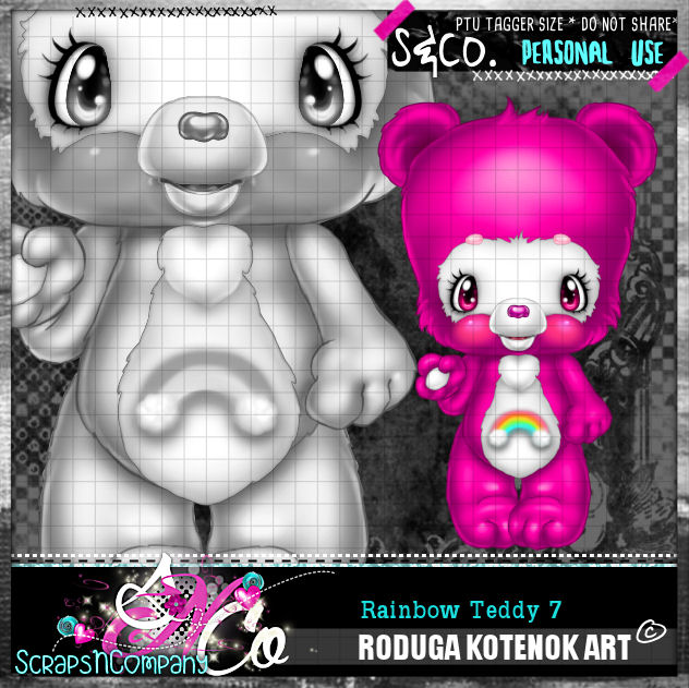 RAINBOW TEDDY7