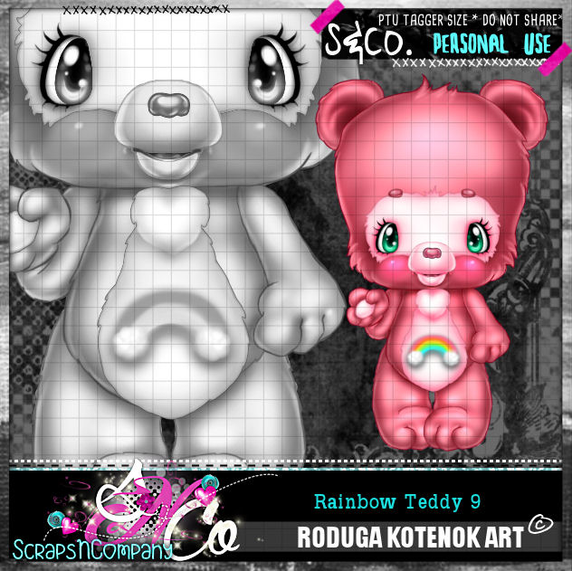 RAINBOW TEDDY9